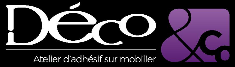 Agence de communication en Vendée, logo adhésif pour mobilier