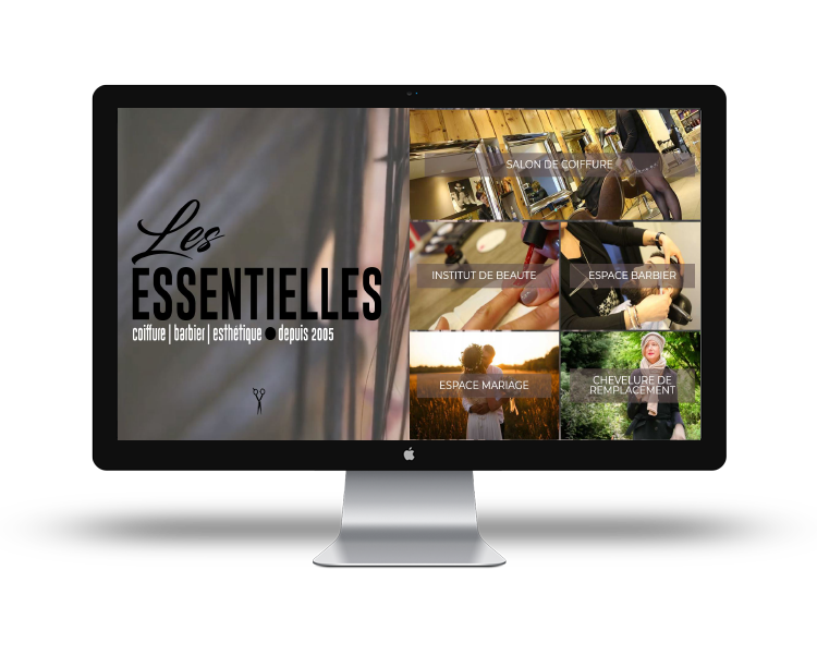 Création de site internet en Vendée mockup-les-essentielles
