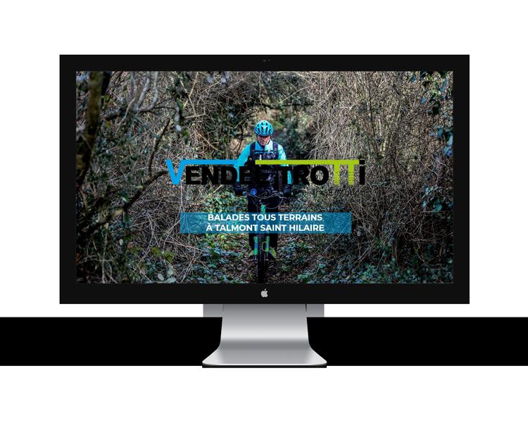 Création de site internet en Vendée pour Vendée Trotti