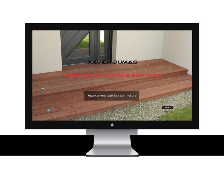 Création de site internet en Vendée Xavier Dumas